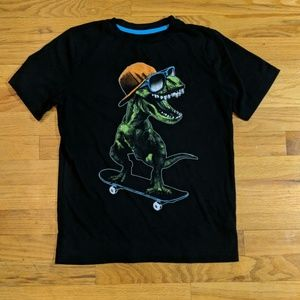 Arizona cool skating dinosaur shirt
